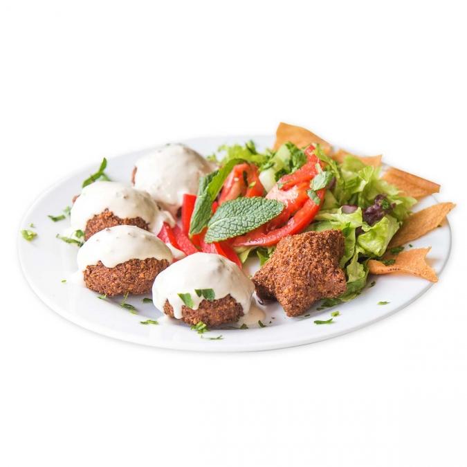 Falafel Teller {vegan}
