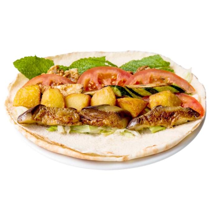 Gegrillte Gemüse Sandwich (Makali)